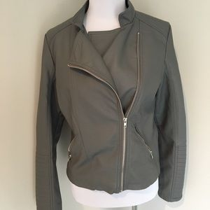 Metaphor Gray Moto Jacket